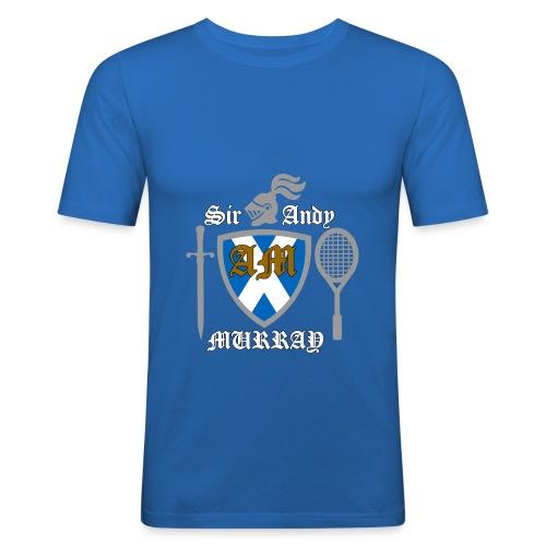 Sir Andy. Ladies T Shirt. Colour choice. - Men's Slim Fit T-Shirt