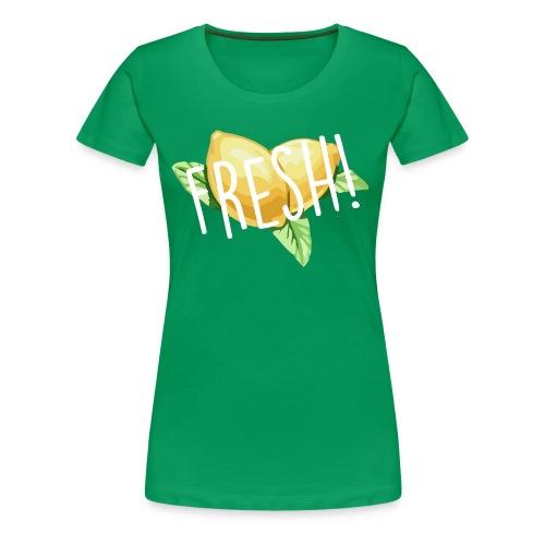 Lemon-Shirt - Frauen Premium T-Shirt