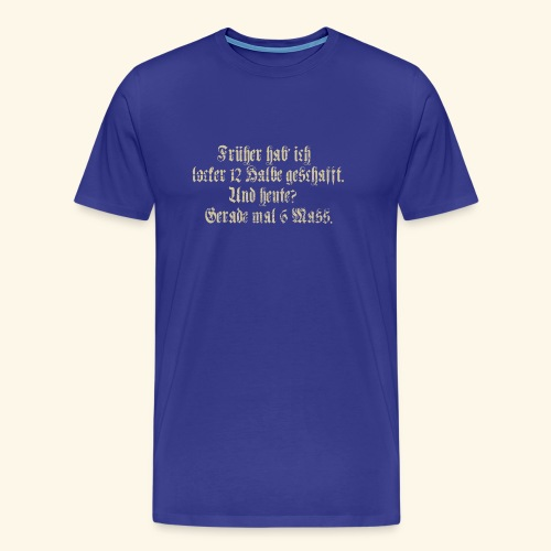 Biertrinker - das Original - Männer Premium T-Shirt