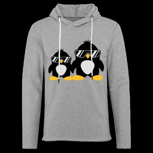 Pinguin Papa & Sohn - Leichtes Kapuzensweatshirt Unisex