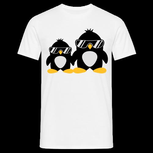 Pinguin Papa & Sohn - Männer T-Shirt