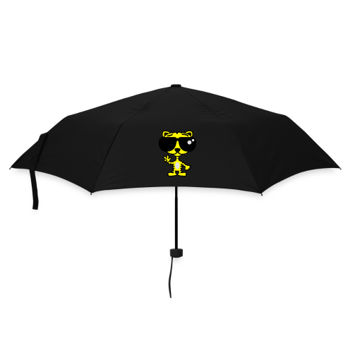 Tiger mit Sonnenbrille - Regenschirm (klein)