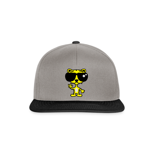 Tiger mit Sonnenbrille - Snapback Cap