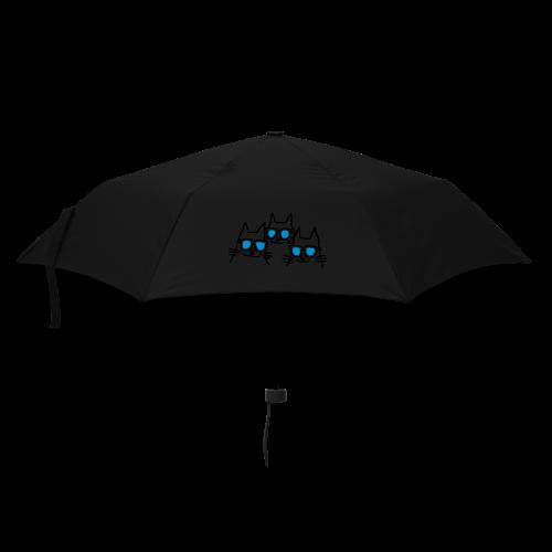Katzen mit Sonnenbrillen - Regenschirm (klein)