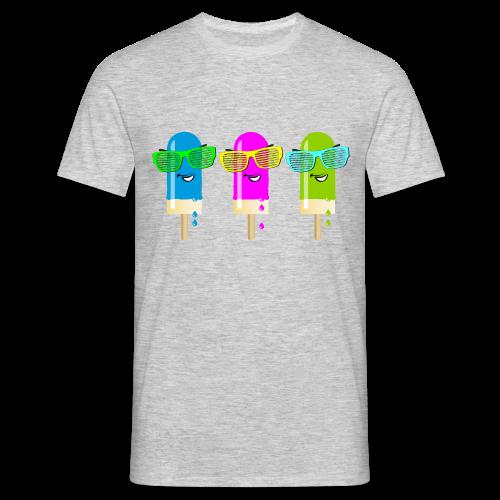 Drei Eis am Stiel - Männer T-Shirt