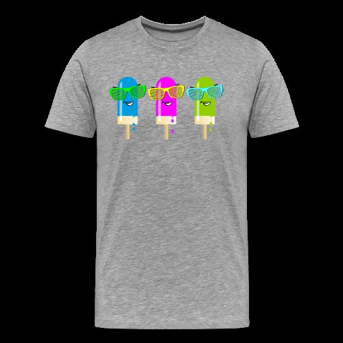 Drei Eis am Stiel - Männer Premium T-Shirt