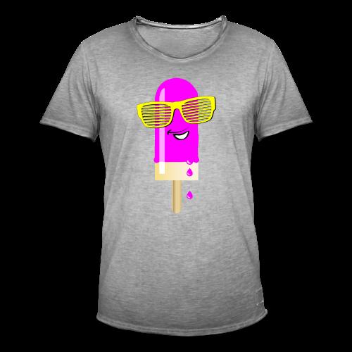 Ein Eis am Stiel - Männer Vintage T-Shirt