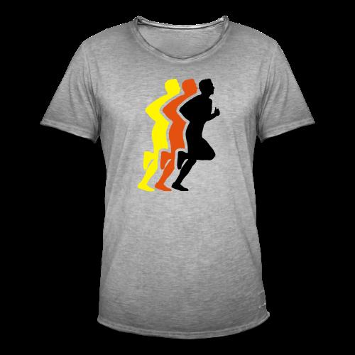 Running Men Deutschland - Männer Vintage T-Shirt