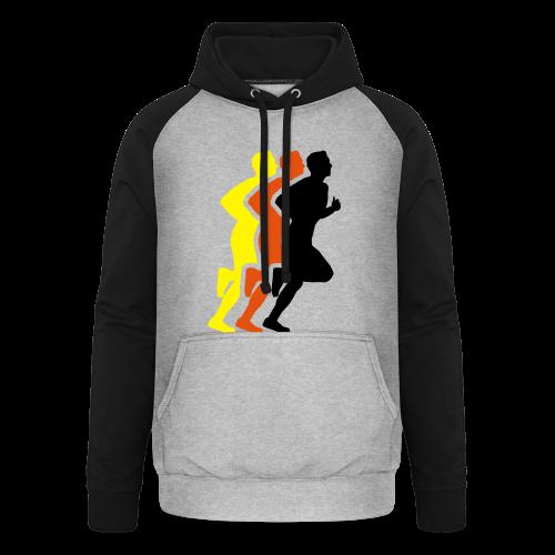Running Men Deutschland - Unisex Baseball Hoodie