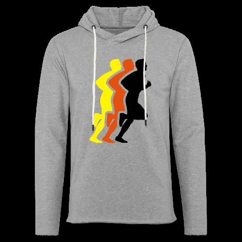 Running Men Deutschland - Leichtes Kapuzensweatshirt Unisex