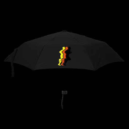 Running Men Deutschland - Regenschirm (klein)