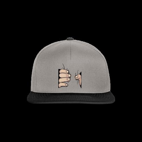 greifende Hand - Snapback Cap