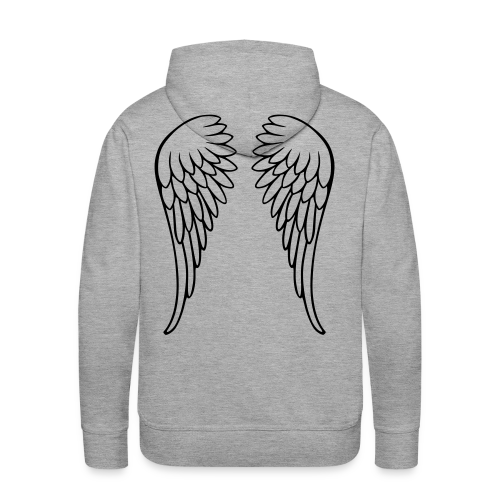 Flügel - Männer Premium Hoodie