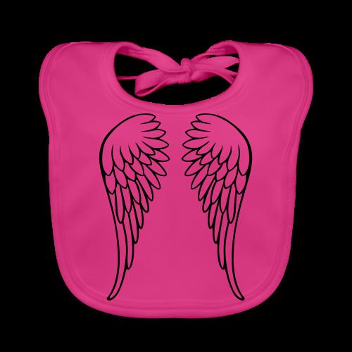Flügel - Baby Bio-Lätzchen