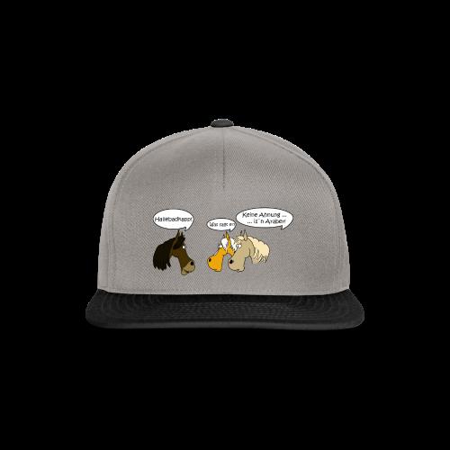 sprechende Pferde - Snapback Cap