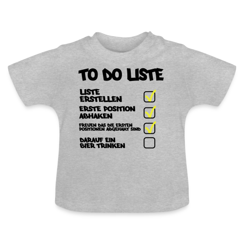 TO DO LISTE - Baby T-Shirt