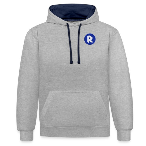 Womens Fleece Double Sided - Contrast Colour Hoodie