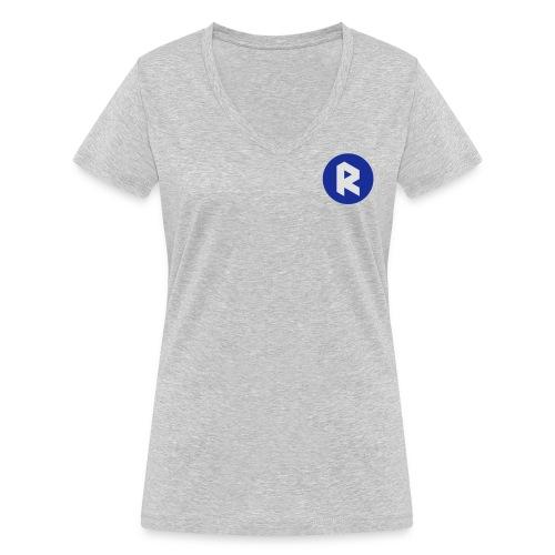 Womens Fleece Double Sided - Women's Organic V-Neck T-Shirt by Stanley & Stella