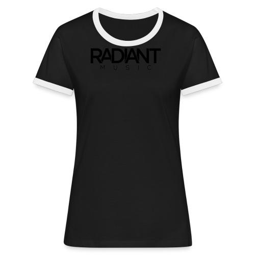 Baseball Cap - Dark  - Women's Ringer T-Shirt