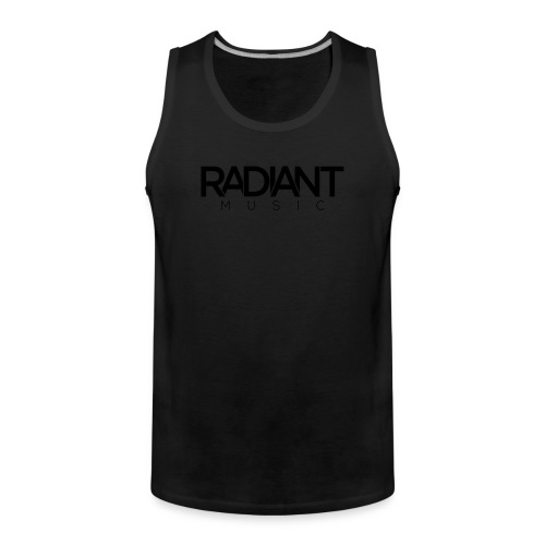 Baseball Cap - Dark  - Men's Premium Tank Top