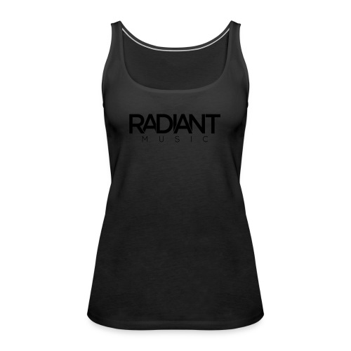 Baseball Cap - Dark  - Women's Premium Tank Top