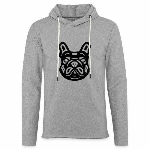 French Bulldog Françis - Leichtes Kapuzensweatshirt Unisex