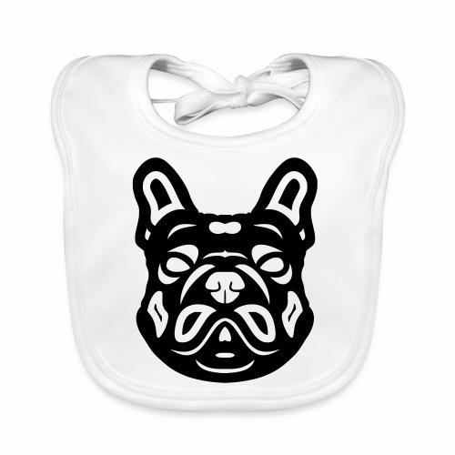 French Bulldog Françis - Baby Bio-Lätzchen