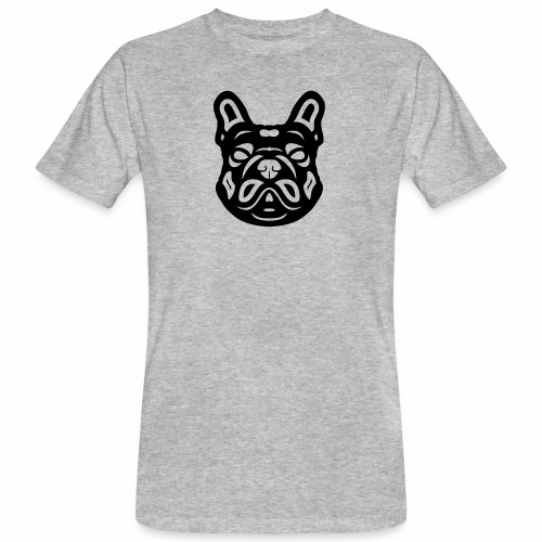 French Bulldog Françis - Männer Bio-T-Shirt