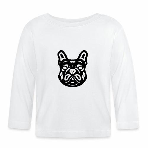 French Bulldog Françis - Baby Langarmshirt