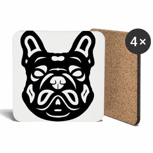 French Bulldog Françis - Untersetzer (4er-Set)
