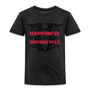 Motorrad Happiness - Kinder Premium T-Shirt
