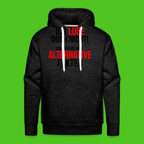 Alternative Fakten - Männer T-Shirt - farbwahl - Männer Premium Hoodie