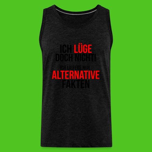 Alternative Fakten - Männer T-Shirt - farbwahl - Männer Premium Tank Top