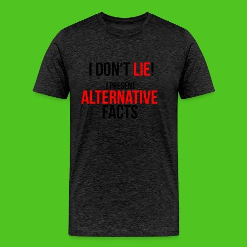 Alternative Facts - Männer T-Shirt - farbwahl - Männer Premium T-Shirt