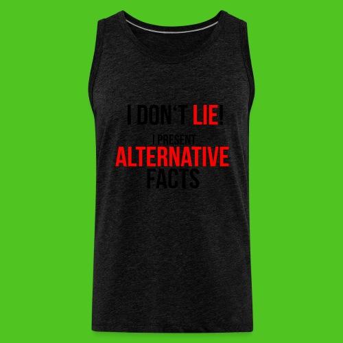 Alternative Facts - Männer T-Shirt - farbwahl - Männer Premium Tank Top