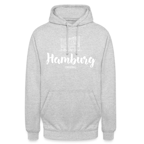 Hamburg Elphi weiß Pullover & Hoodies - Unisex Hoodie