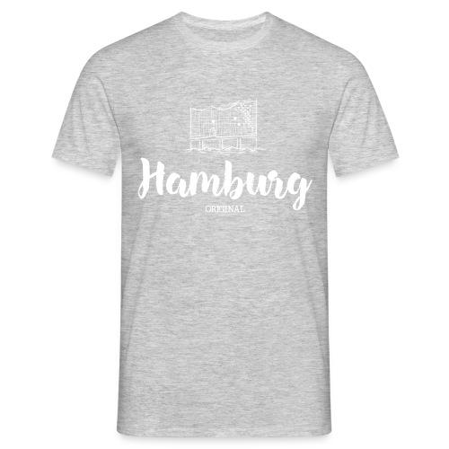 Hamburg Elphi weiß Pullover & Hoodies - Männer T-Shirt
