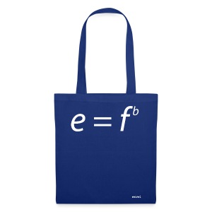 Einstein for musicians - Bolsa de tela