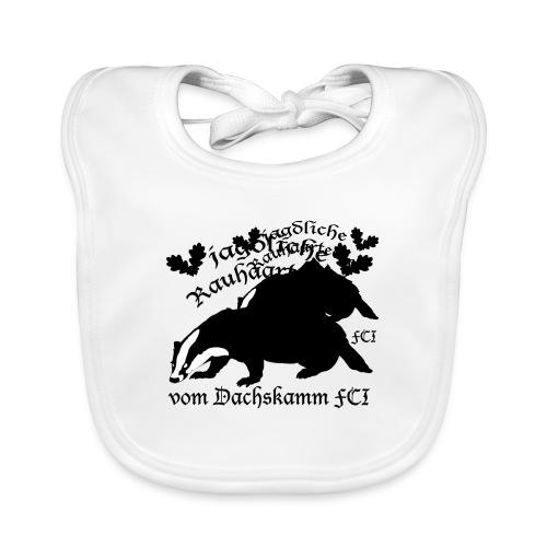 Dachskamm Trucker - Baby Bio-Lätzchen