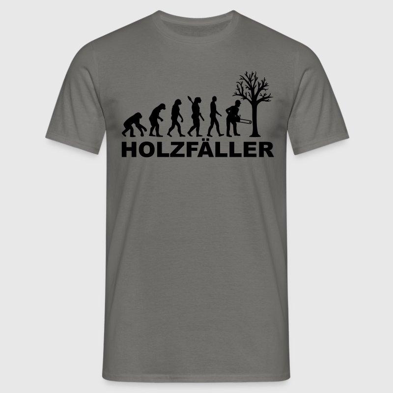 Holzfäller T-Shirts - Männer T-Shirt