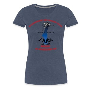 Starnberger See Sailing Team rot - Frauen Premium T-Shirt