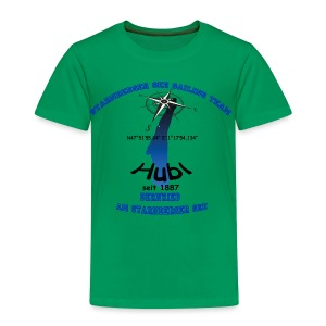 Starnberger See Sailing Team blau - Kinder Premium T-Shirt