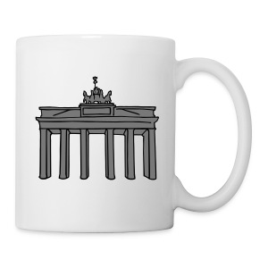 Brandenburg Gate in Berlin 2 Caps & Hats - Mug