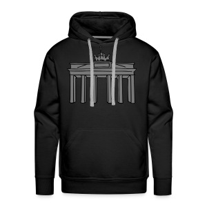 Brandenburg Gate in Berlin 2 Hoodies & Sweatshirts - Men's Premium Hoodie