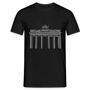 Brandenburg Gate in Berlin 2 Hoodies & Sweatshirts - Men's T-Shirt