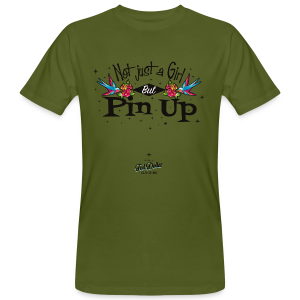 Not Just a Girl but Pin Up - T-shirt bio Homme