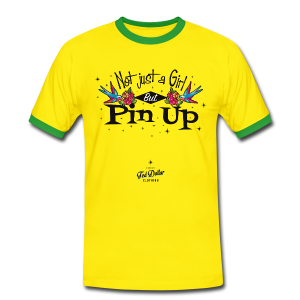 Not Just a Girl but Pin Up - T-shirt contraste Homme