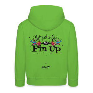 Not Just a Girl but Pin Up - Pull à capuche Premium Enfant