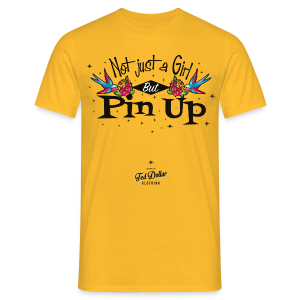 Not Just a Girl but Pin Up - T-shirt Homme