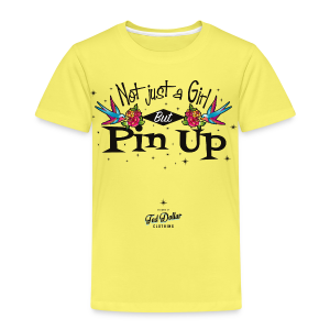 Not Just a Girl but Pin Up - T-shirt Premium Enfant